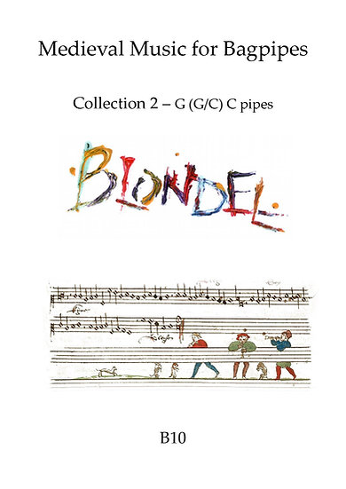 Book: Blondel Medieval Bagpipe Collection 2