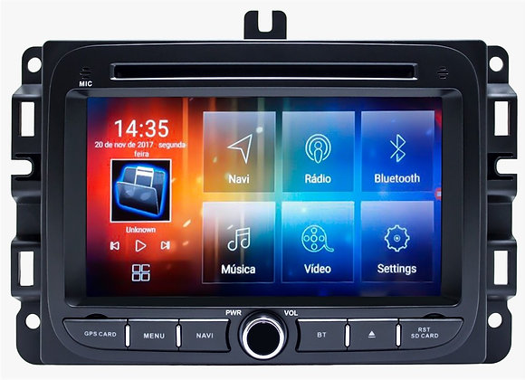 Multimidia RENEGADE JEEP / FIAT TORO 8.8 Android Bluetooth GPS