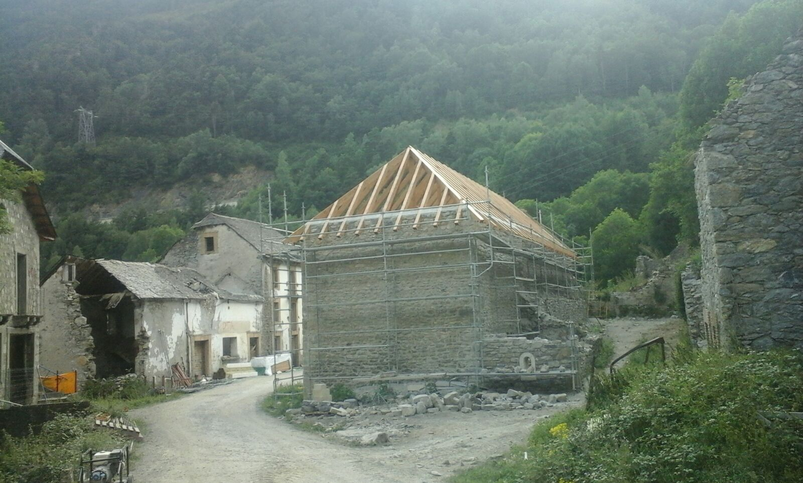 Cubierta Iglesia (Julio 2016)