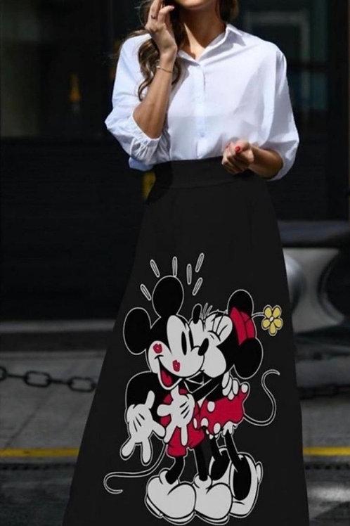 Long Shifon Skirt