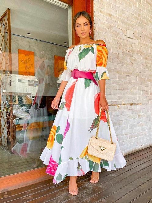 Shifon Long Dress
