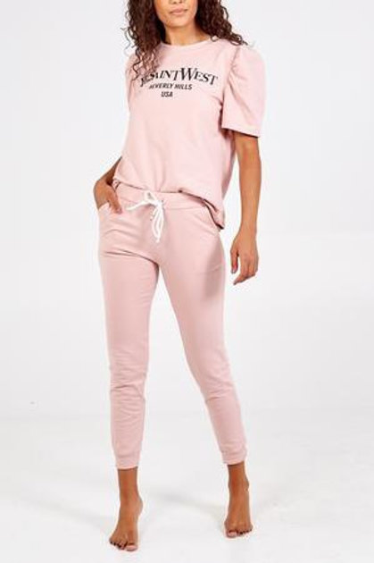 Short Sleeve Track Suit