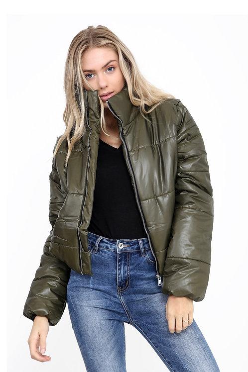 Short Padded Puffer Jacket