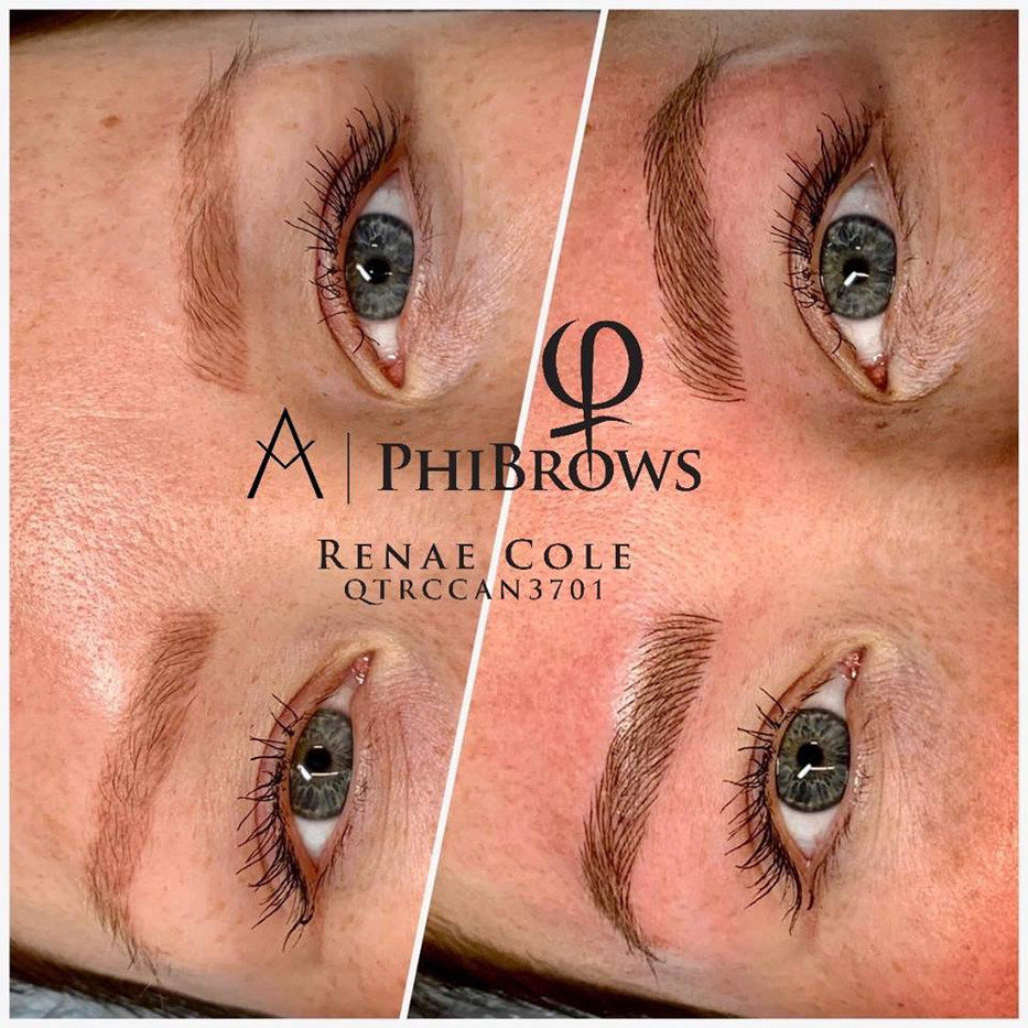 Microblade Brow (coverup of Microblading done elsewhere)