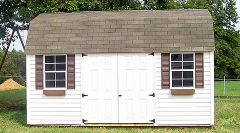 lofted garden shed