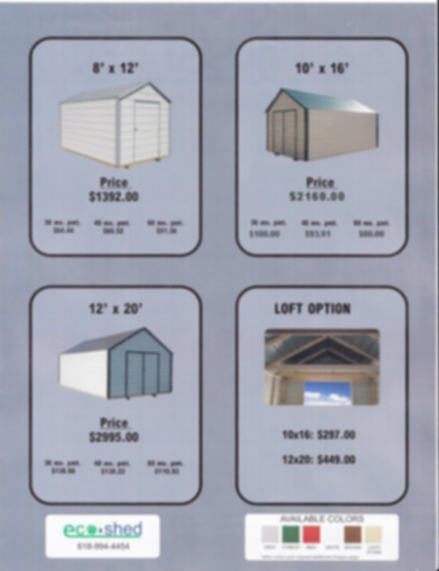 Economy Portable Storage Buildings