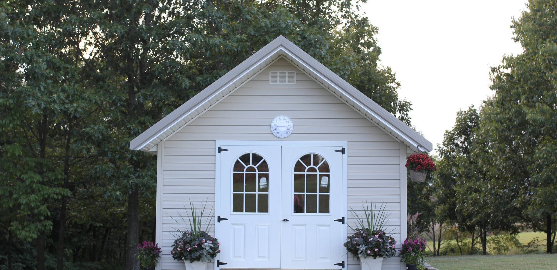 victorian shed