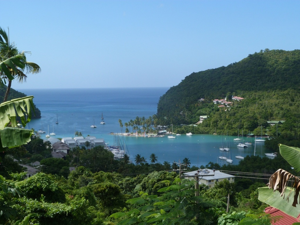 Marigot Bay, St. Lucia Mitsegeln