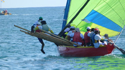 Yole Regatta for Le Marin