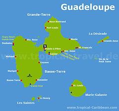 Kojencharter  Karibik Guadeloupe