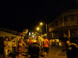 Street Party, Gros Islet, St. Lucia