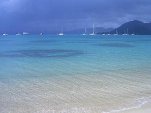 Segelurlaub und Strand