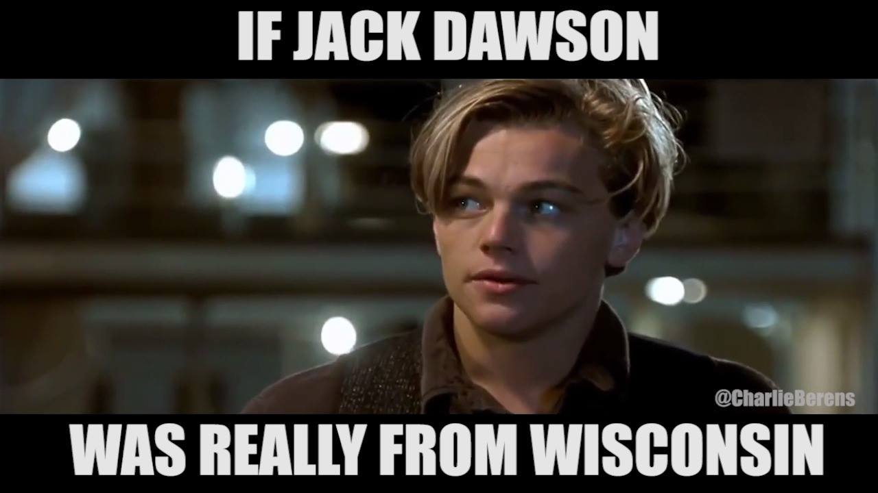 If Jack Dawson was really from Wisconsin