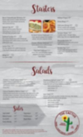 Caesar Salad, sides, shrimp, gyro salad, flatbead, wings