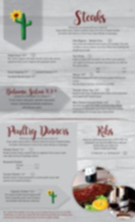 Steaks, Poultry, Ribs, ribeye, filet, chicken, sirloin, food