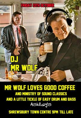 Mr Wolf Loves Good Coffee!!