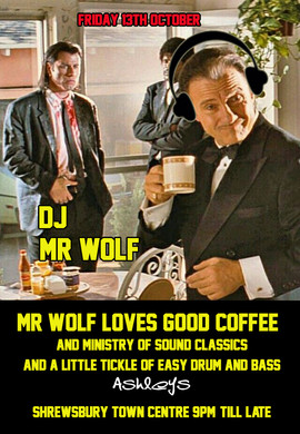 Mr Wolf Loves Good Coffee!!