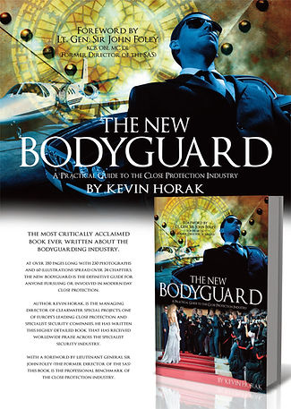 close protection book by kevin horak