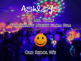 pub and club DJ Mr Wolf
