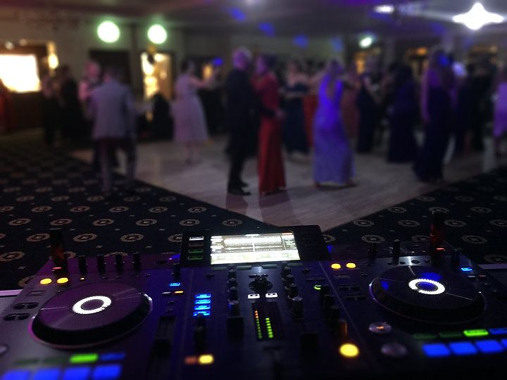 wedding dj albrighton hall hotel shropshire
