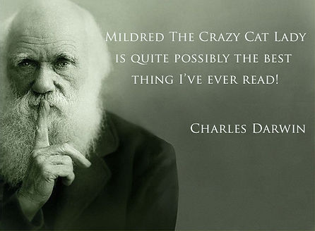 charles-darwin-mildred-the-crazy-cat-lad