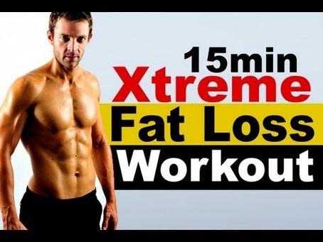 15 Mins Fat Burning Workout(No Equipment)