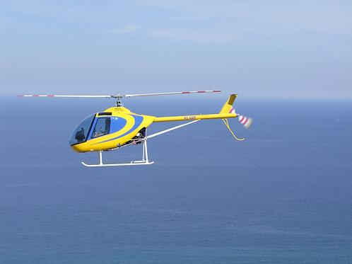 Vol d'initiation en hélicoptère 1 heure