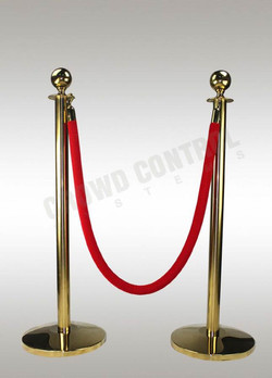 Crowd Control Systems Rope Barrier