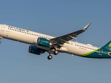 Aer Lingus to launch transatlantic flights from Manchester in July
