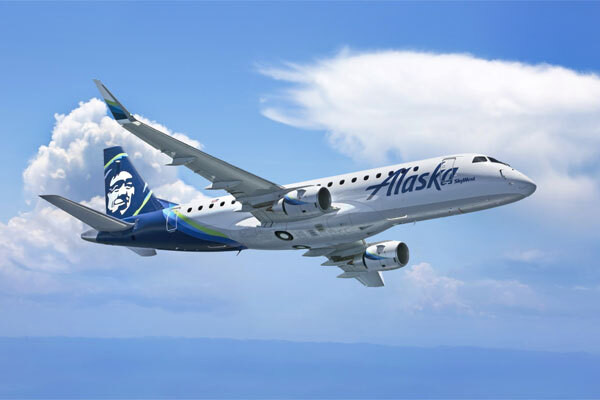 SkyWest Airlines orders eight new E175 aircraft for operation with Alaska Airlines
