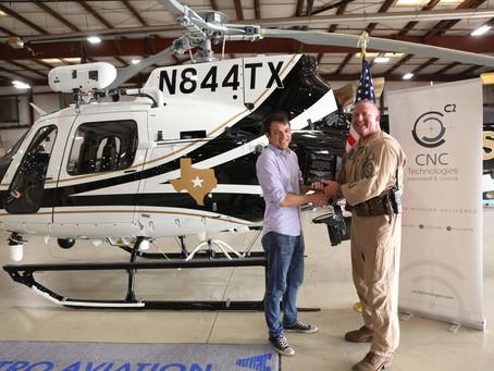 CNC Technologies deploys new airborne law enforcement solution