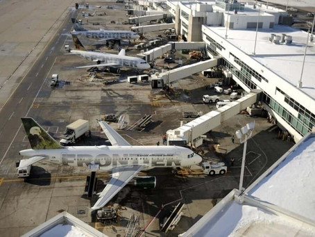 Which Airport Does Each Major US Carrier Call Home?