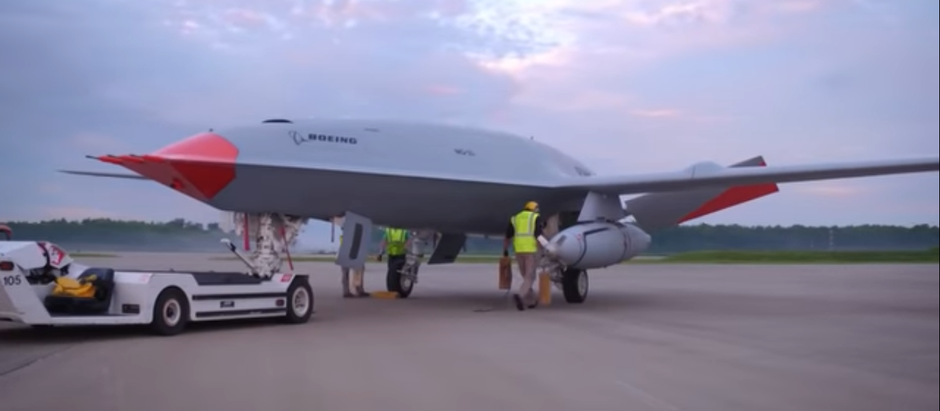 Boeing MQ-25 aerial refueler makes first test flight with fuel store
