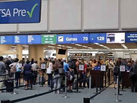 More than 1.2 million people traveled through US airports on Sunday