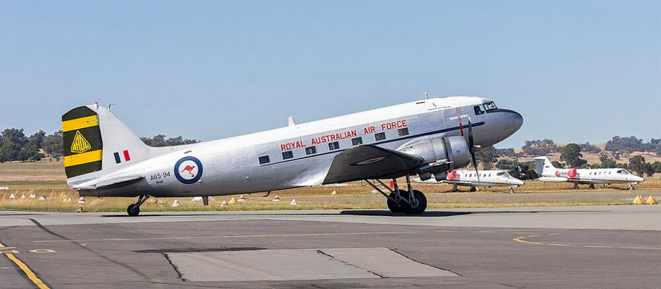 HARS Aviation Museum To Fly A DC-3 Over Sydney Harbour