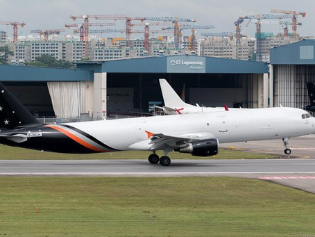 UK's Titan receives first of three converted A321 freighters