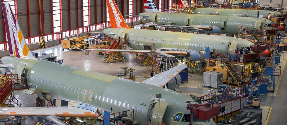 Airbus looks to produce 75 A320S a month by 2025
