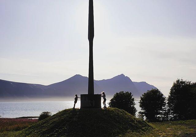 Spydet på Bjarkøy ferdig oppsatt