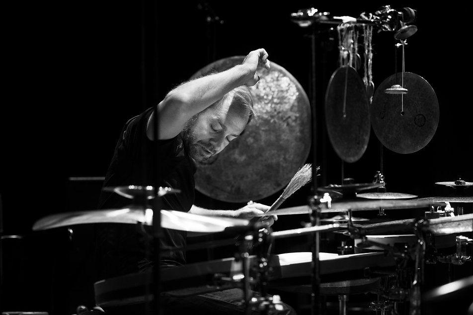 Jarrod Cagwin Turkish Cymbals Eckermann Drums