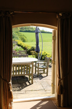 Sulgrave Farm view from Sitting Room