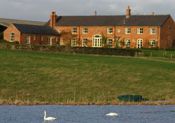 Sulgrave Farm from the lake