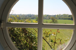 Sulgrave Farm view from the bath