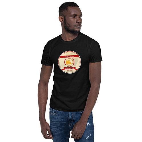 Bacl Short-Sleeve Unisex T-Shirt Simple Biltong logo