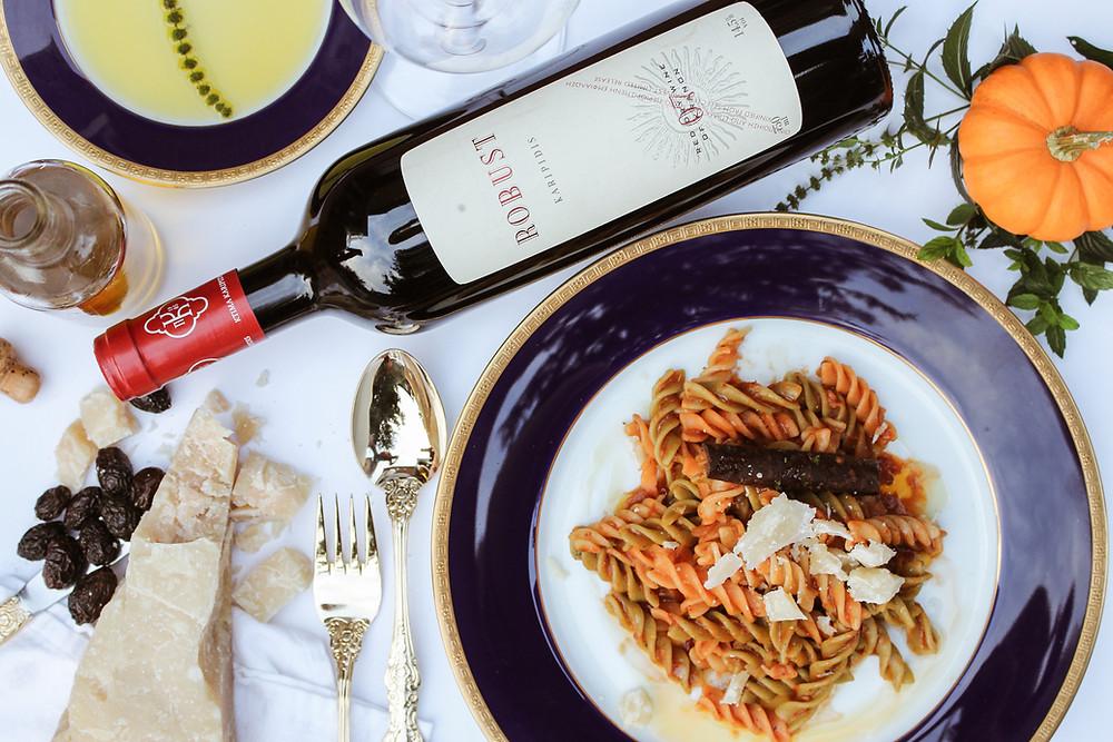 Переговоры с итальянцами в ресторане