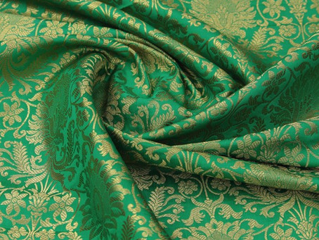 Embroidery Fabric | Divyam embroideries | Surat | Silk Fabric