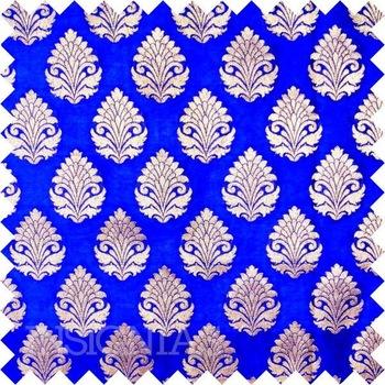 Indian-Silk-Georgette-Brocade-Fabric