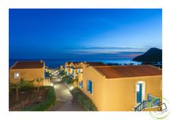 island resort exterior lesvos
