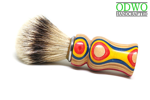 Shaving Brush (made from old skateboards)