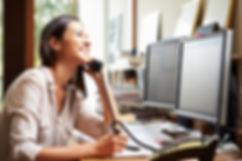 shutterstock_184643831 - Woman on phone