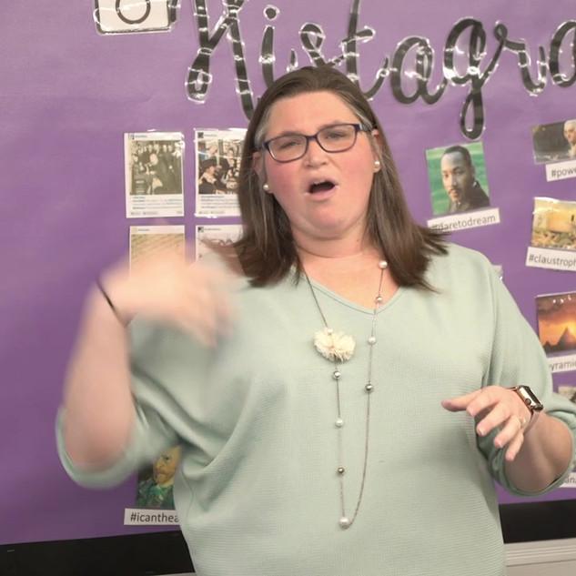 Mrs. Joyce Bible Lesson